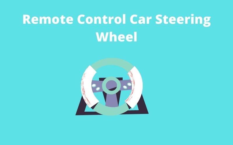 Remote Control Car Steering Wheel